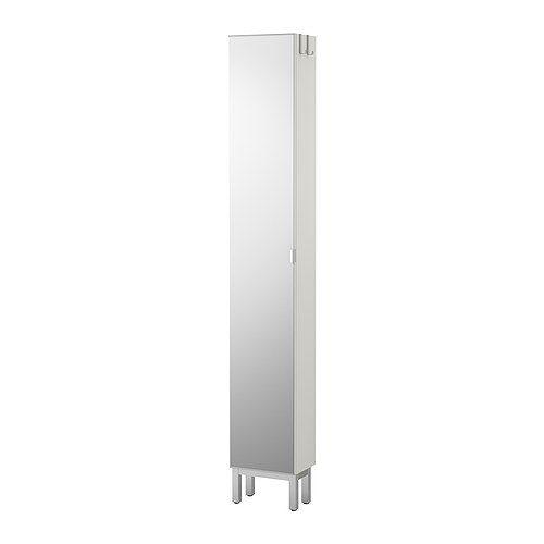 náhled Nová bílá skříňka se zrcadlem a polic.dílem LILLÅNGEN IKEA
