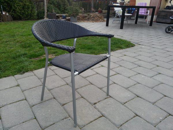 náhled Ratanová židle - umělý ratanový výplet