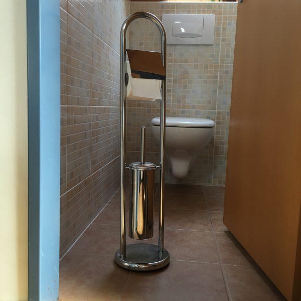 náhled Držák na toaletní papír a wc štětku