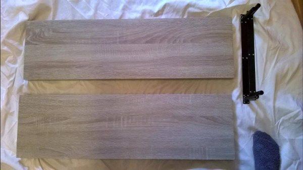 náhled Dřevěné poličky