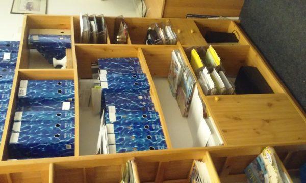 náhled kancelářská policová skříň - za odvoz