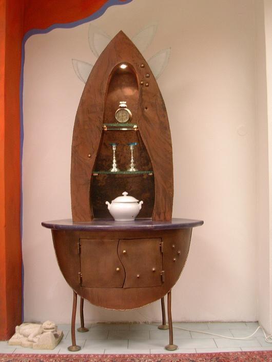 náhled Originální vitrína
