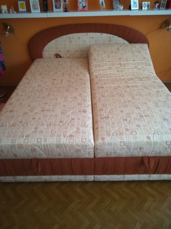 náhled Polohovací postel