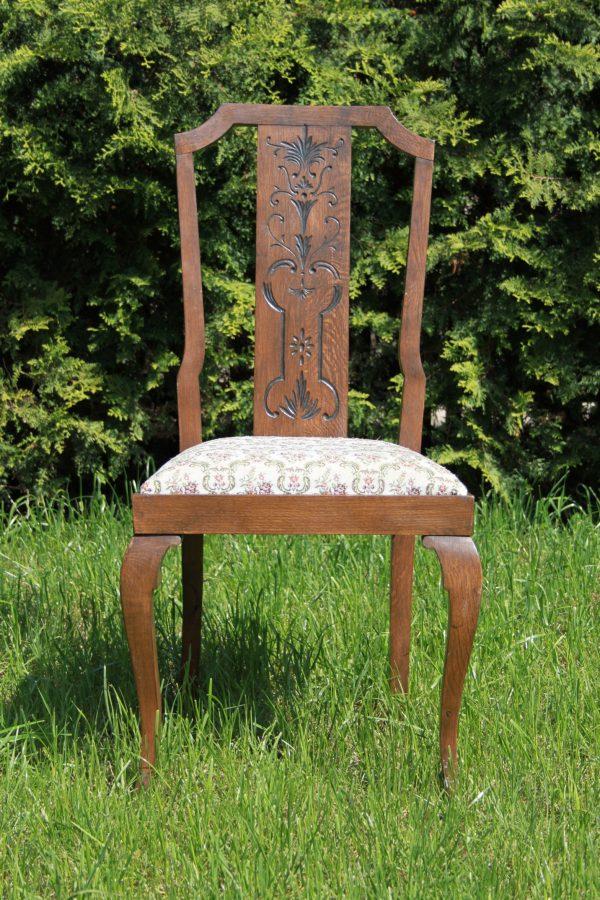 náhled 4x židle s polstrováním