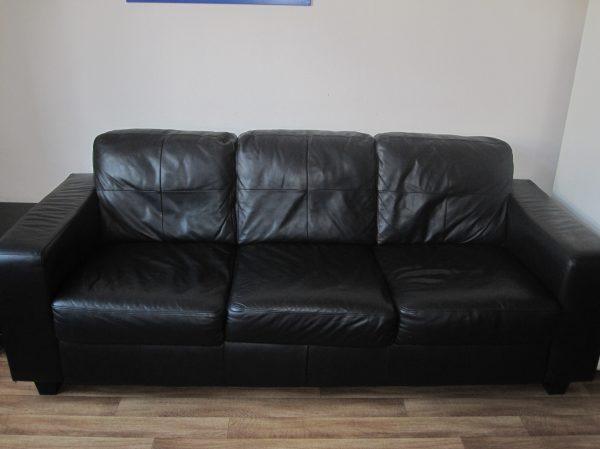 náhled Kožená sedačka IKEA SKOGABY