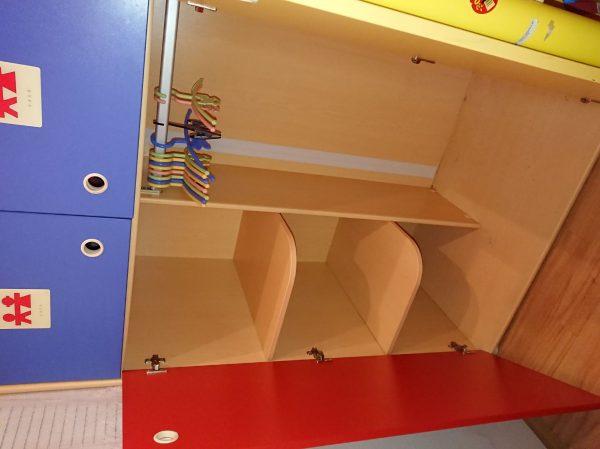 náhled Dětský pokoj CILEK (vyvýšená posetel + skříně a stůl)