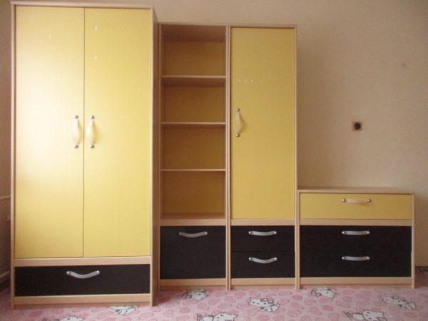 náhled Dětský pokoj / nábytek - 7 kusů