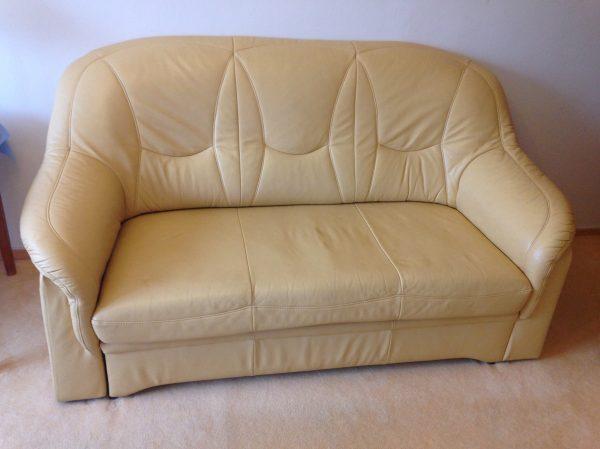 náhled Luxusní sedací souprava z pravé kůže