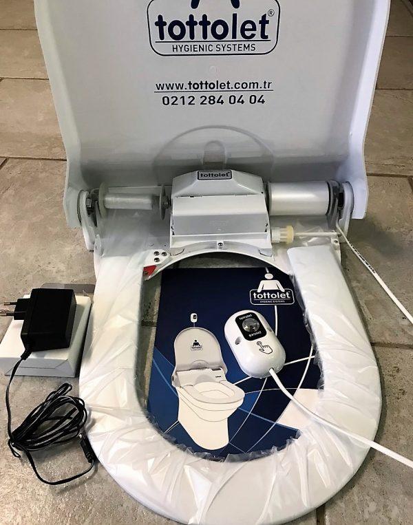 náhled Elektrické WC sedadlo s  hygienickou výměnnou folií