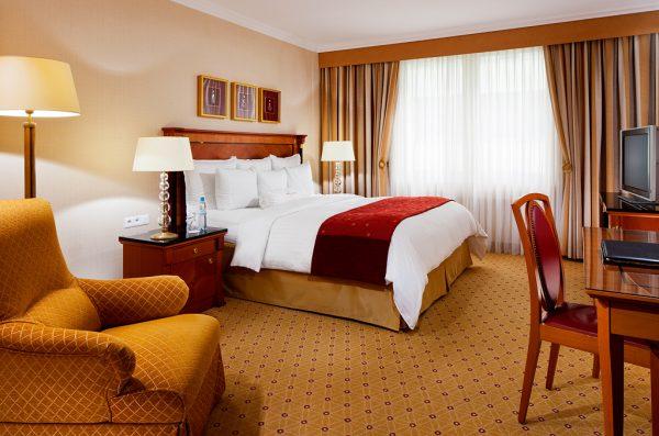 náhled Luxusní hotelové závesy.