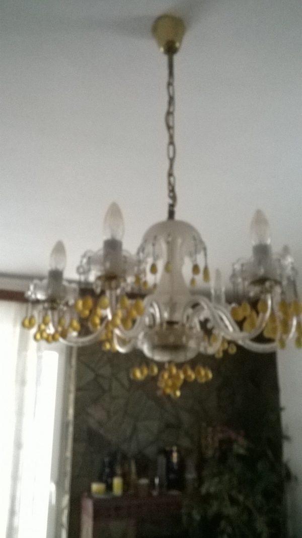 náhled Křišťálový lustr