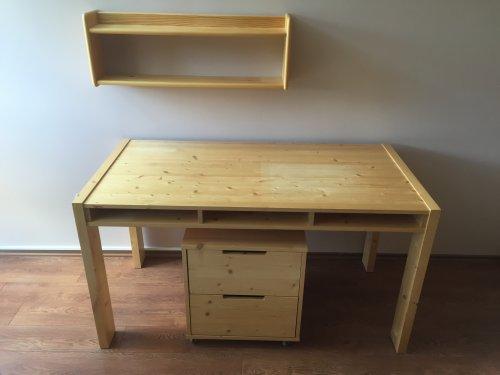 náhled Gazel - dětský psací stůl TOGO+kontejner+polička