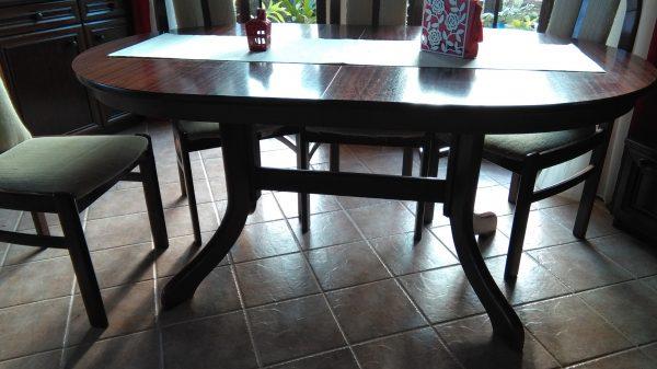náhled stůl+6 židlí