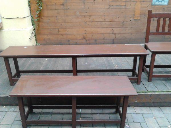 náhled Prodávám bytelné stoly na zahrádky.