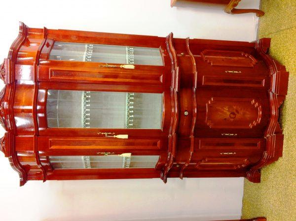 náhled Vitrína prosklená stylová italská velká - VV26