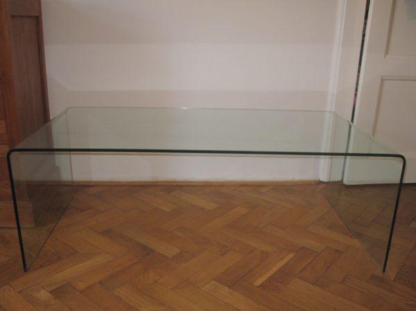 náhled Skleněný konf. stolek z ohýbaného tvrzeného skla