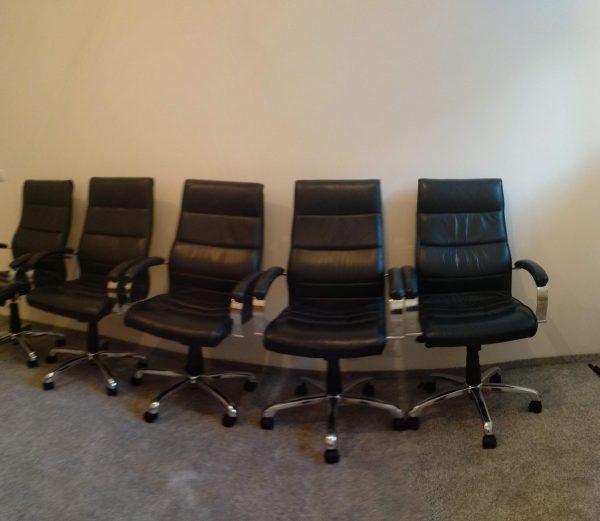 náhled 5 kožených židlí