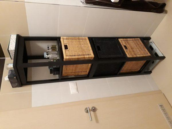 náhled Koupelnová skříňka s košíky