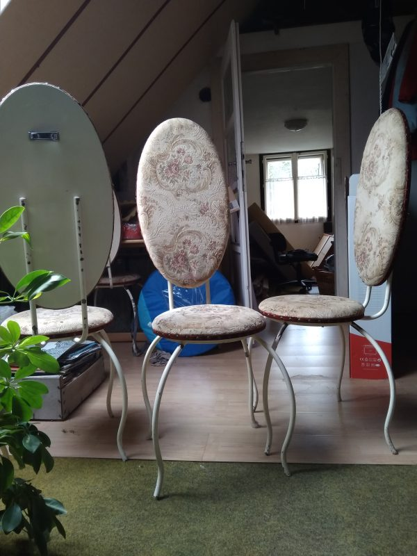 náhled Kovové židle 4-6 kusů