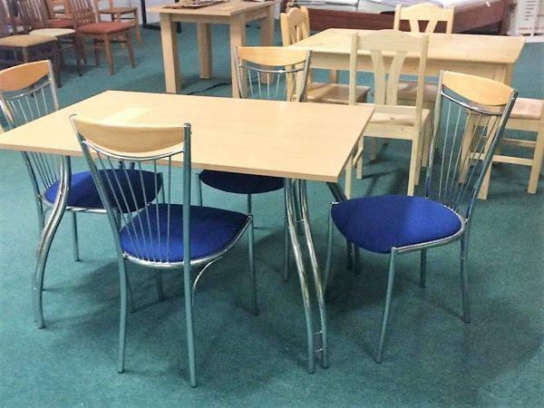 náhled Jídelní stůl + židle, český výrobce