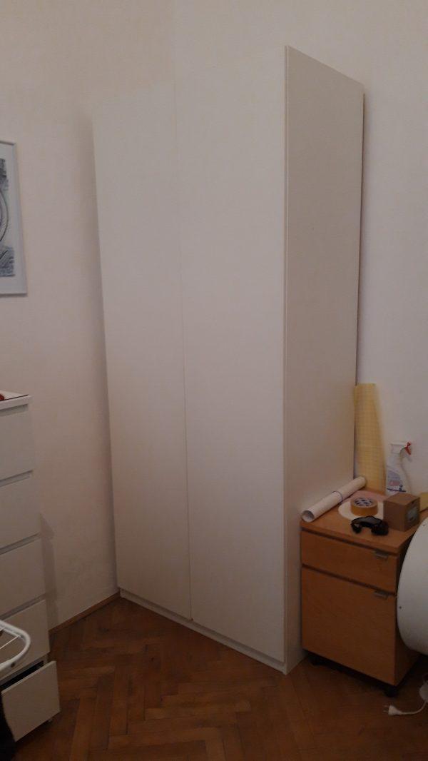 náhled Prodám 2 šatní skříně Ikea Pax BÍLÉ