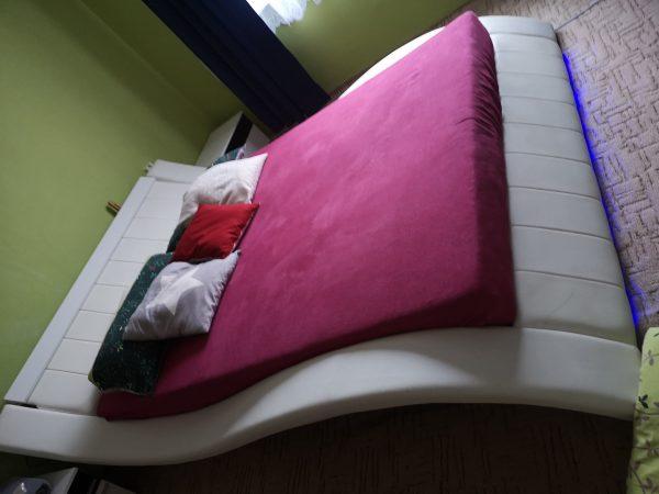 náhled Koženková postel