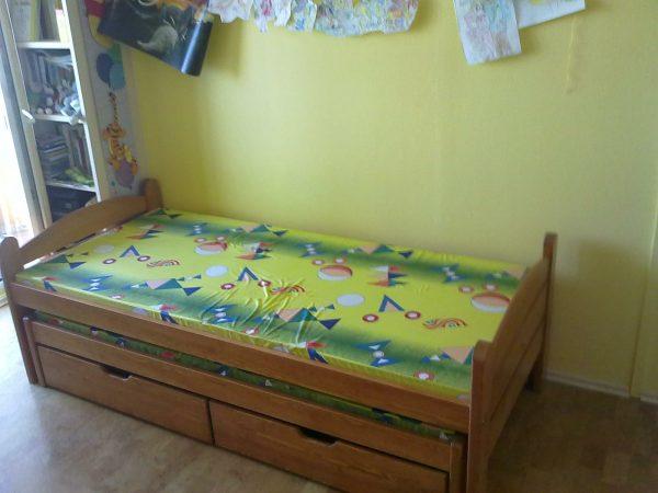 náhled Rozkládací postel Otmar s přistýlkou a úložným prostorem 200x90 cm