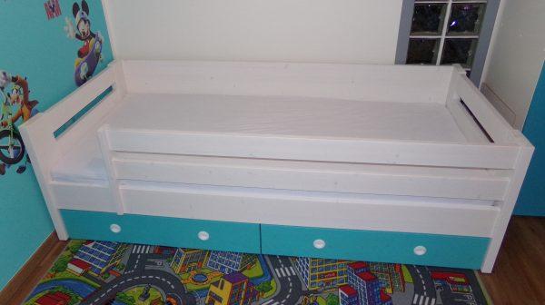 náhled dětská postel s úložným prostorem
