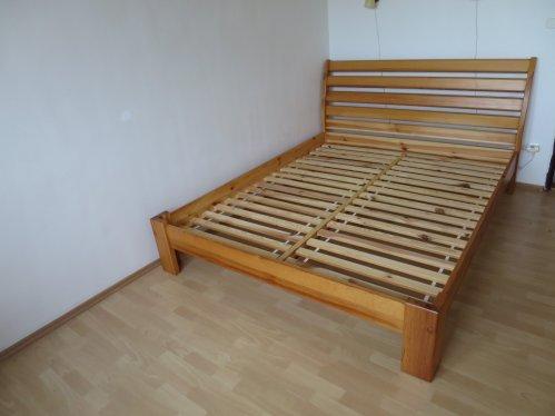 náhled Manželská postel z masivu 160 x 200