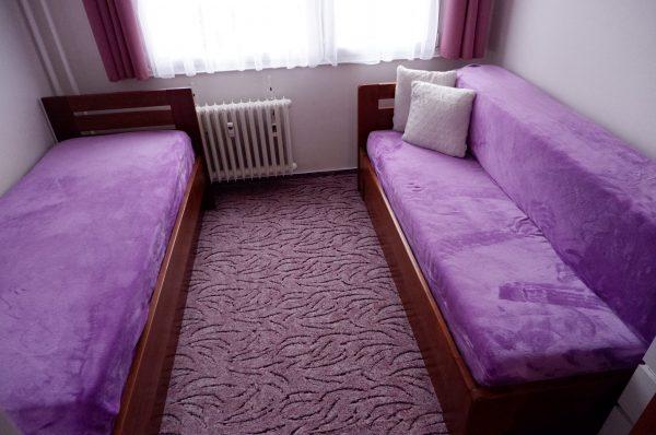 náhled Rozkládací postel s úložným prostorem Buk 2x