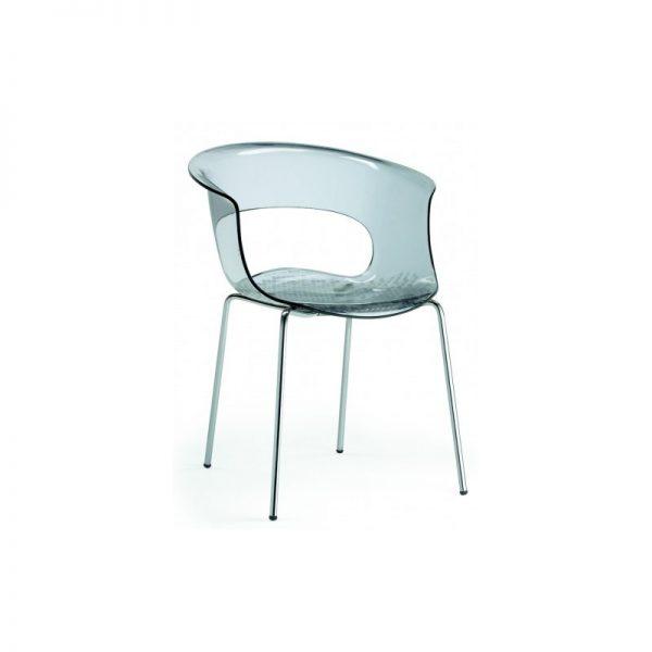 náhled Plastová židle s područkami MISS B