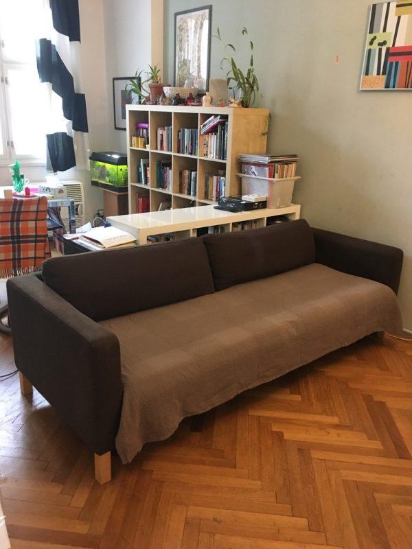 náhled Starší rozkládací gauč IKEA