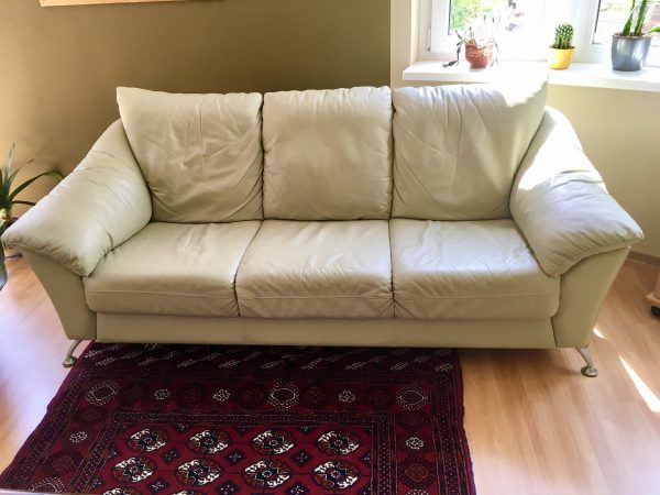 náhled Kožený gauč - sofa