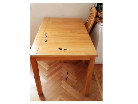 náhled Celodřevěnný rozkládací jídelní stůl jasan + 4 židle