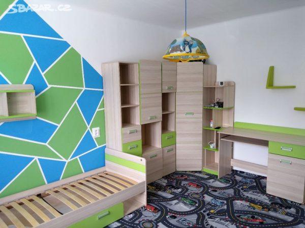 náhled Dětský pokoj Lorento 14 + postel