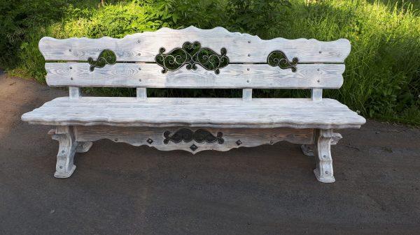 náhled Dřevěná lavice